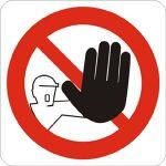 divieto-non autorizzati